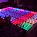 pista iluminada cristal led