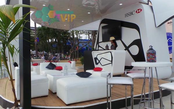 Sala Lounge Diez Personas HSBC Evento Acapulco